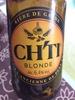 Bière de garde, blonde - Product