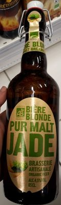 Bière blonde pur malt Jade - Product