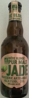 Bière blonde pur malt Jade - Product - fr