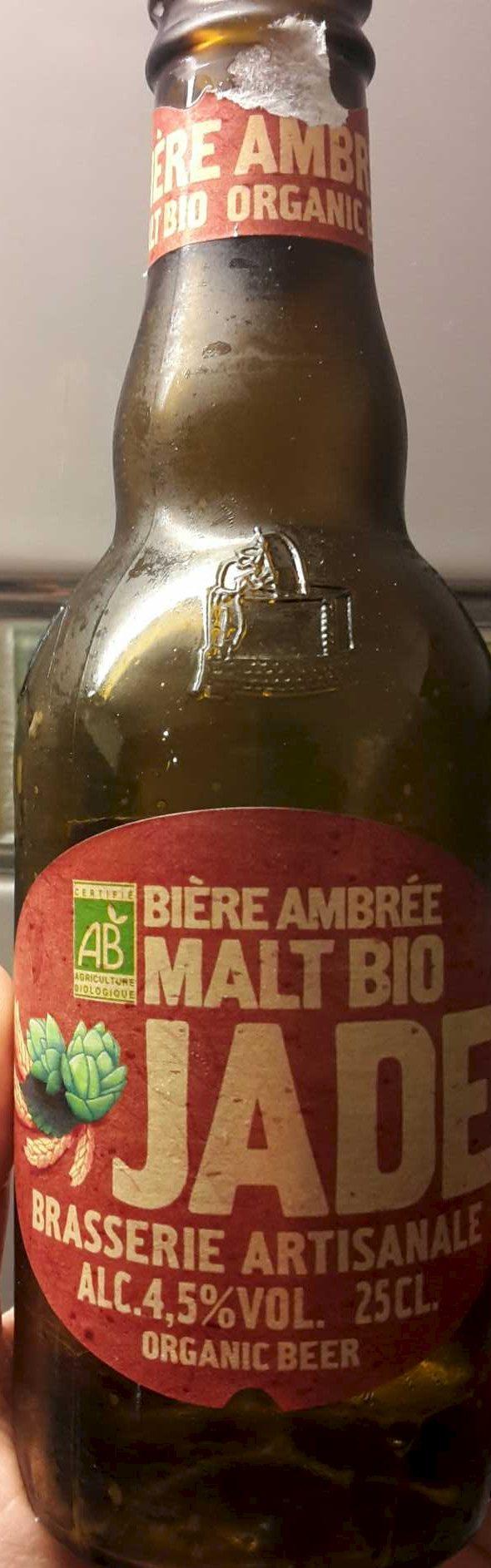 Bière ambrée malt Bio - Product - fr