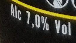 Pale Ale - Informations nutritionnelles