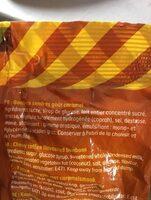 Kara' bool caramel - Ingrediënten - fr