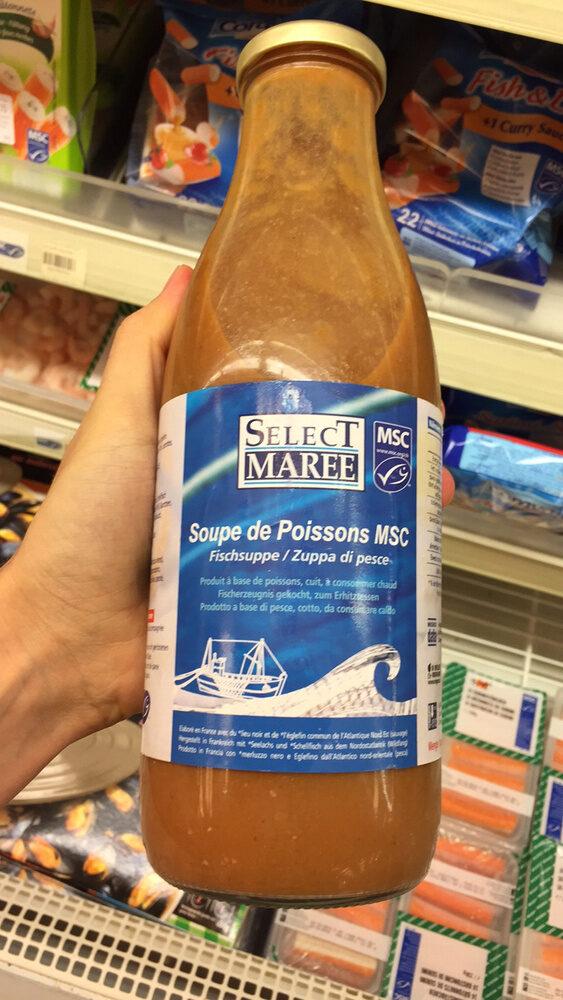 Soupe de poisson MSC - Product