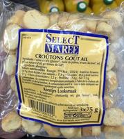 Croûtons goût ail - Produit - fr