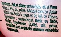 L'original Tartare Ail & Fines Herbes - le petit pot - Ingredients - fr