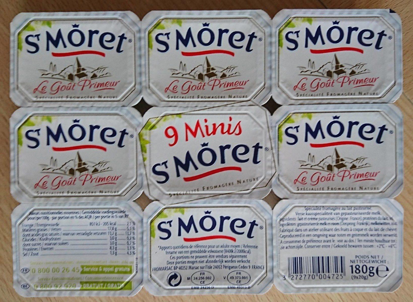 9 Minis St Moret (17,8% MG) - Product - fr