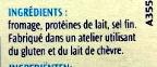 St Môret - fomat économique - Ingrédients - fr