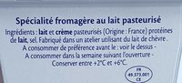 Fromage - Ingrédients - fr