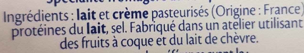 8 minis St Moret - Ingrediënten - fr