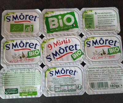Minis St Môret bio - Produit