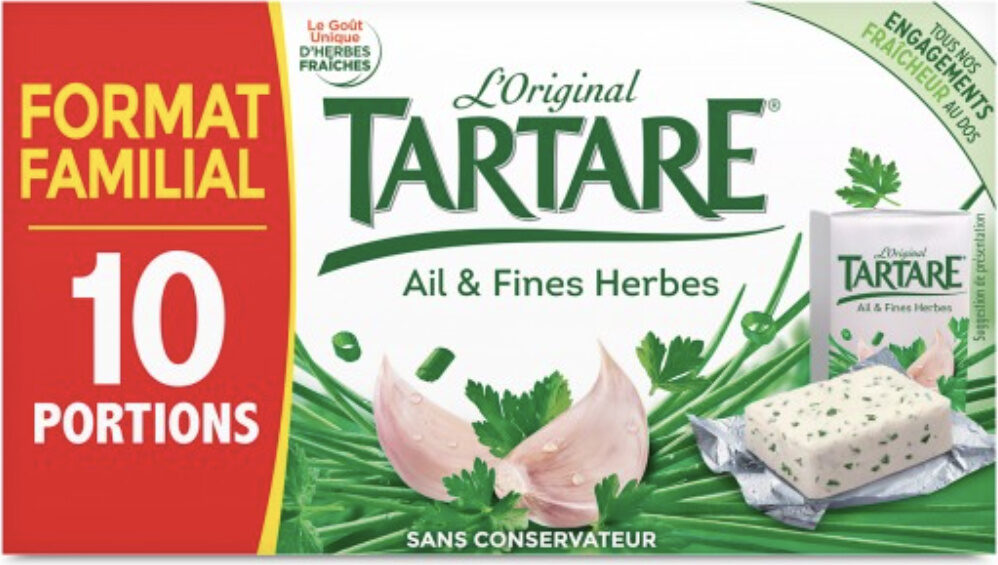 Tartare Ail & Fines herbes - Prodotto - fr