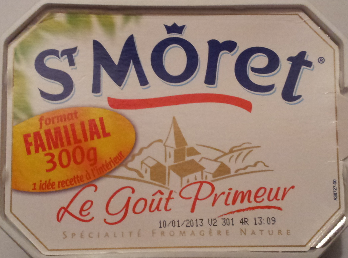 St Môret - fomat familial - Produit - fr