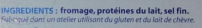 St Môret® Le Goût Primeur (17,5% MG) - fomat Familial 300 g - Ingrédients