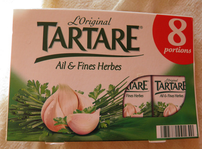 L'Original Tartare, Ail & Fines Herbes (8 portions) - (32,2 % MG) - Product - fr
