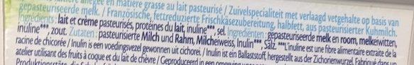 St Môret Ligne & Plaisir 8% M.G. - Ingrediënten