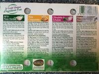 L'original Tartare, Coffret 4 Saveurs - Ingredients - fr