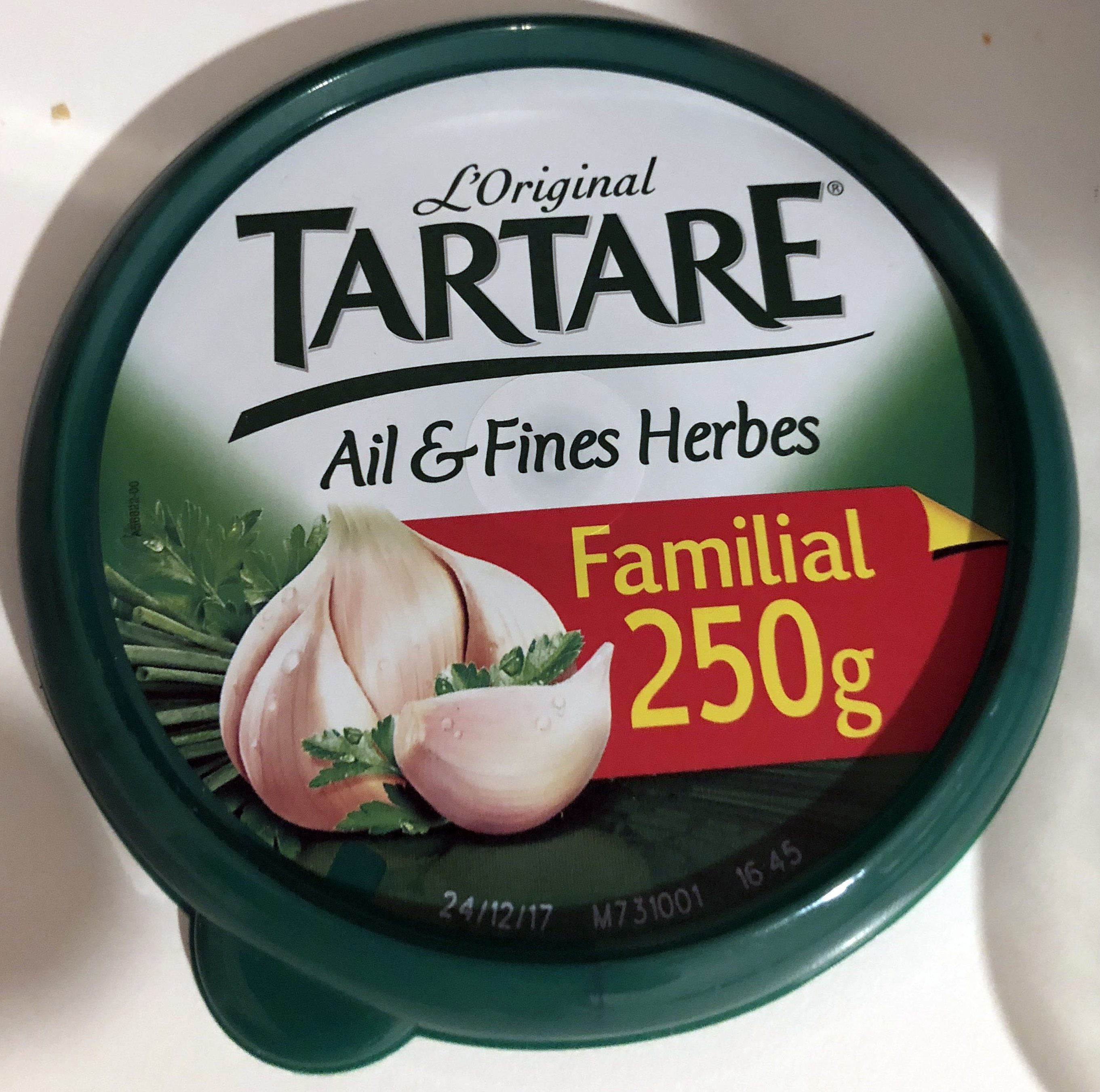 Tartare ail et fines herbes - Producto