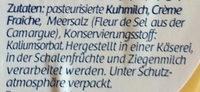 Frisch-Genuss - Ingredients