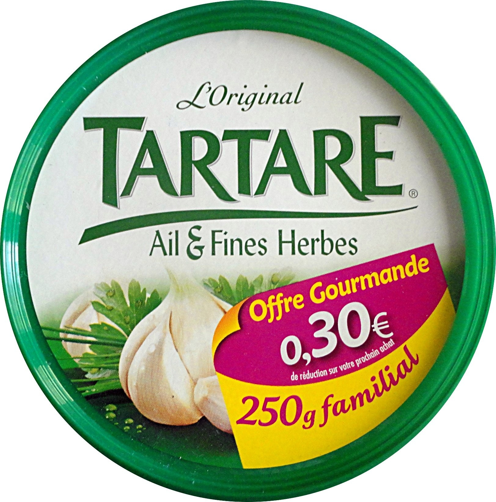 L'Original Tartare Ail & Fines herbes - Produit