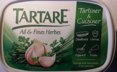 Tartare, Ail & Fines Herbes (Tartiner et Cuisiner) - (19,9 % MG) - Produit