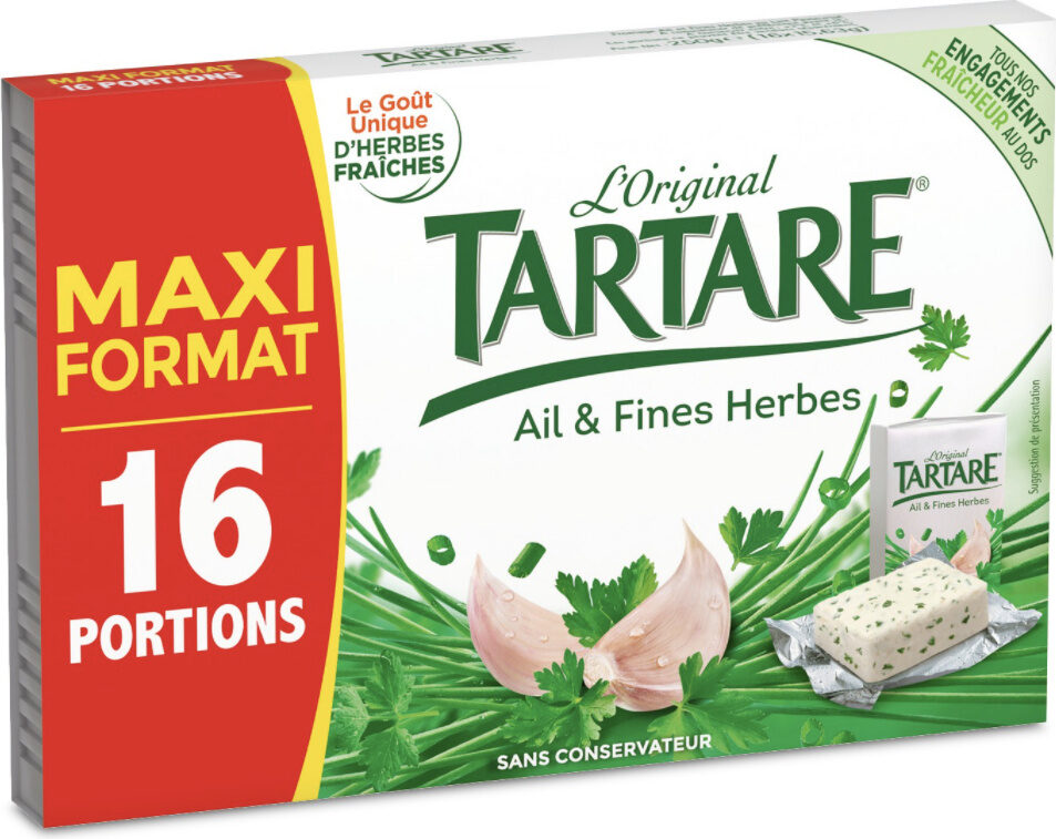 Tartare Ail & Fines herbes - Product - fr