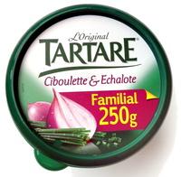 L'original Tartare, Ciboulette & Echalote (Familial) - (34,5 % MG) - Produit - fr