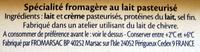 Le Goût Primeur - offre éco - Ingrédients - fr
