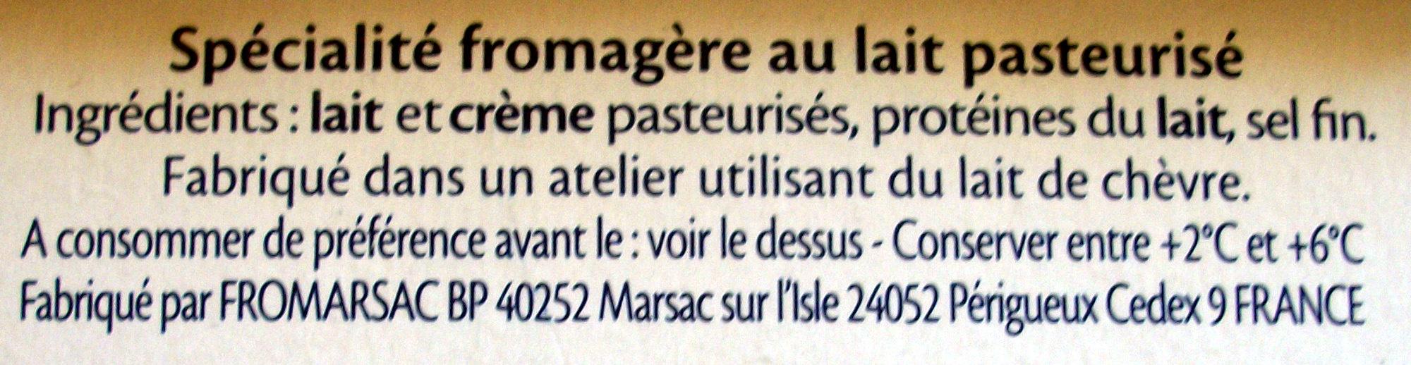 Le Goût Primeur - offre éco - Ingrediënten - fr