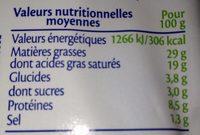 St Môret Apéritif 24 billes au coeur de pesto - Nutrition facts - fr
