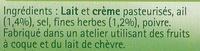 Tartare Ail & Fines herbes - Ingrédients - fr