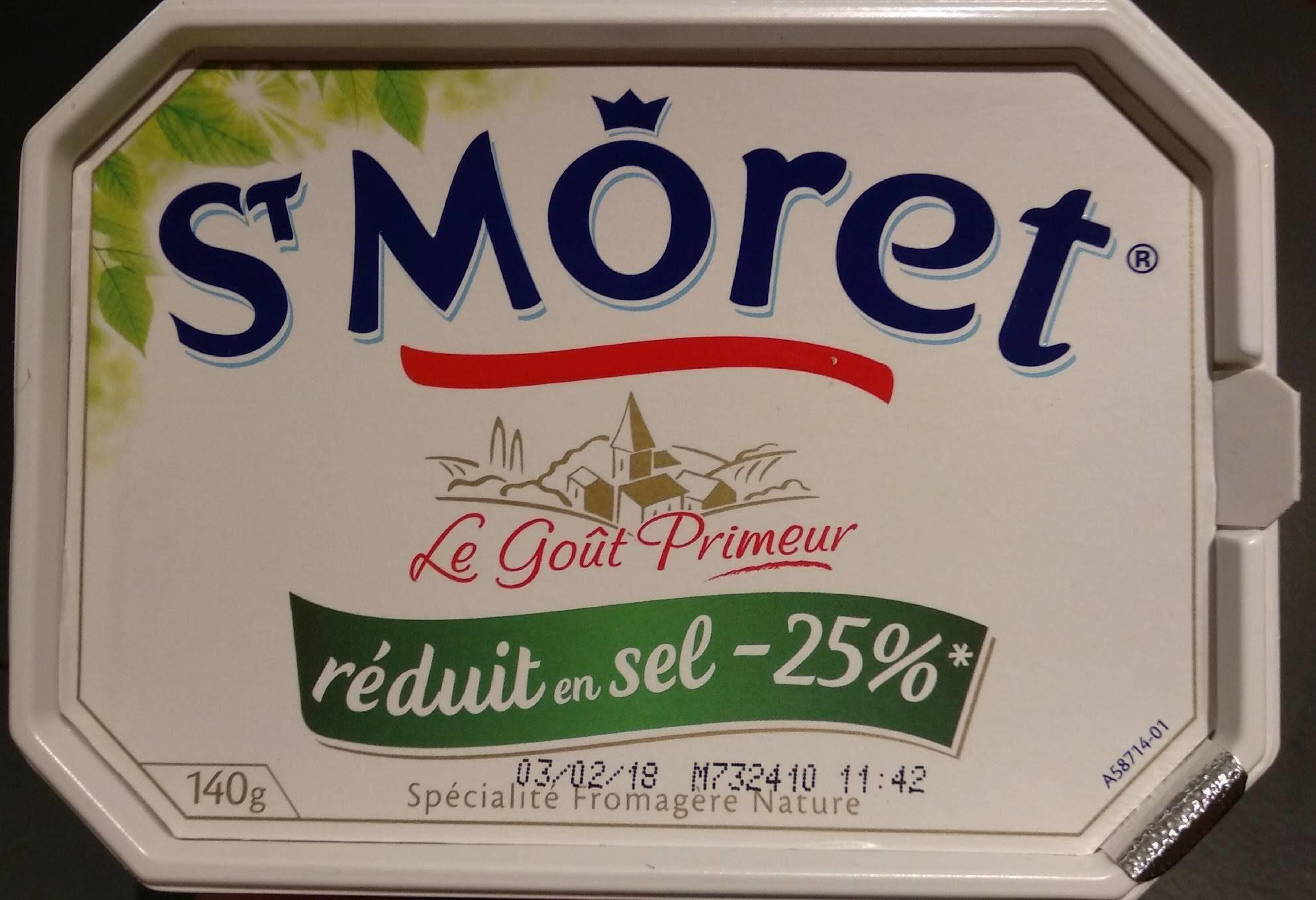 St Môret réduit en sel -25 % - Product - fr