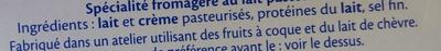 St Môret réduit en sel -25 % - Ingrediënten - fr