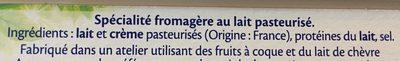 St Moret - Ingrediënten - fr