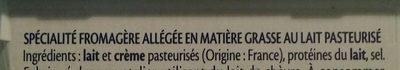 St Moret léger - format familial - Ingrédients - fr