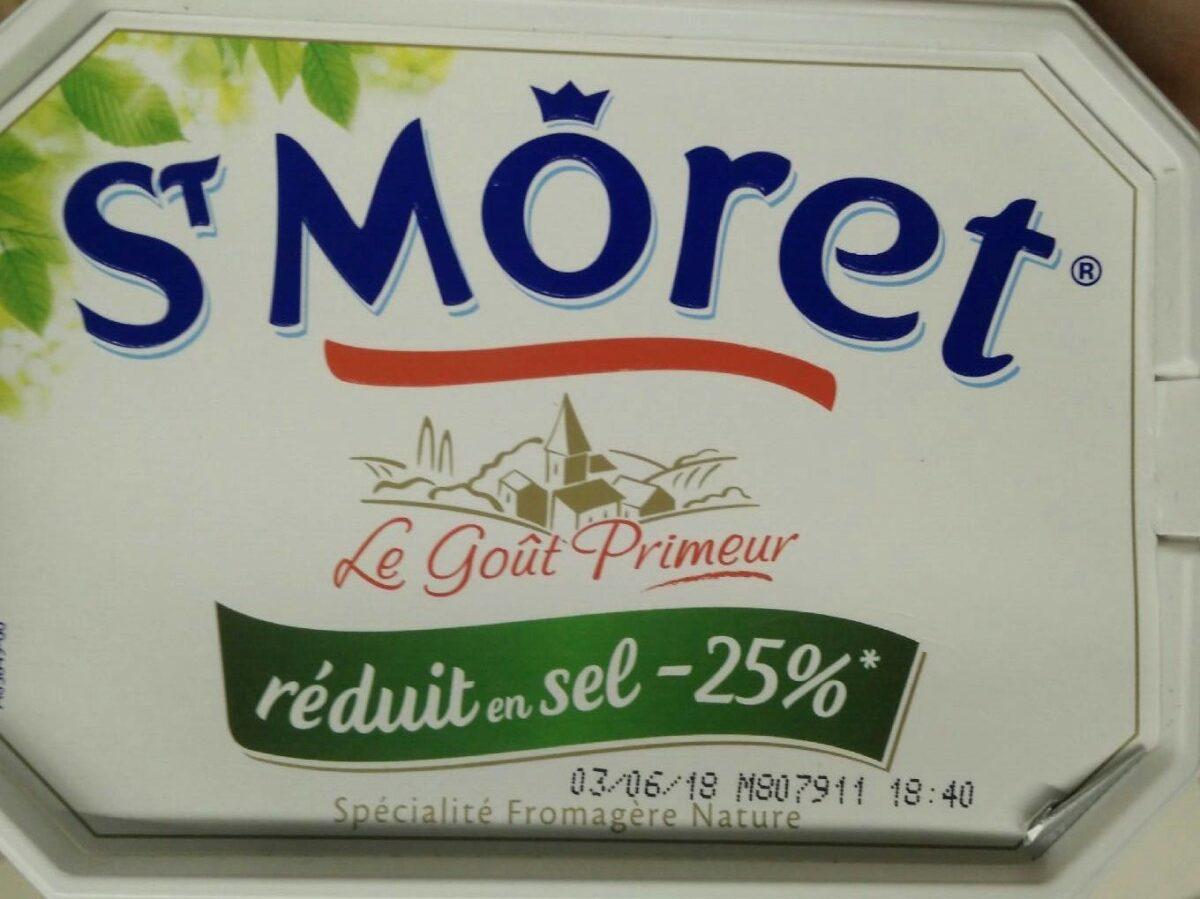 Spécialité fromagère nature (-25% sel) - Product - fr