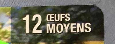 L'Oeuf Plein Air - Ingredients - fr