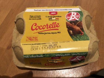 Oeufs ferminer Label Rouge - Ingredients - fr