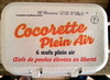 Cocorette Plein Air (x 6) calibre Gros (L) - Product