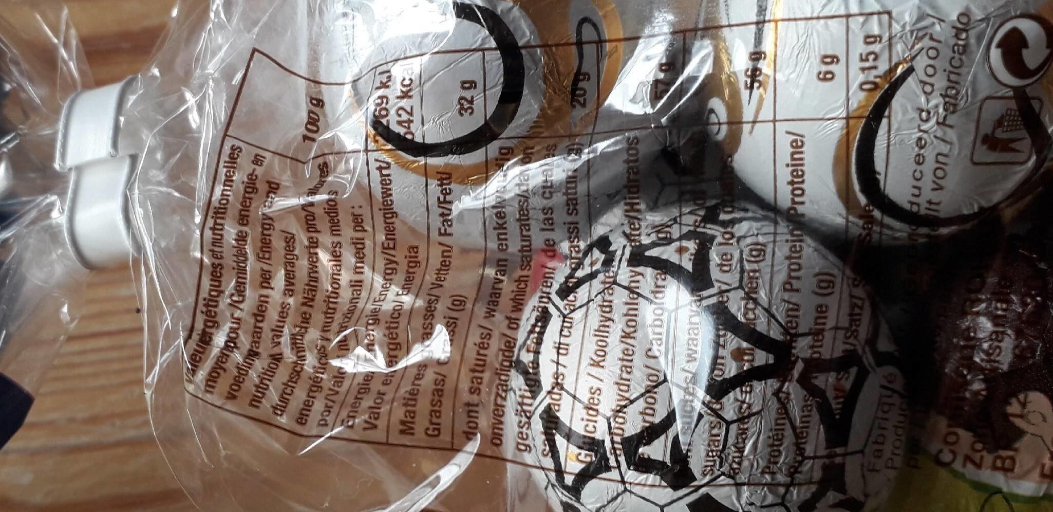 Roman confiserie - Informations nutritionnelles - fr