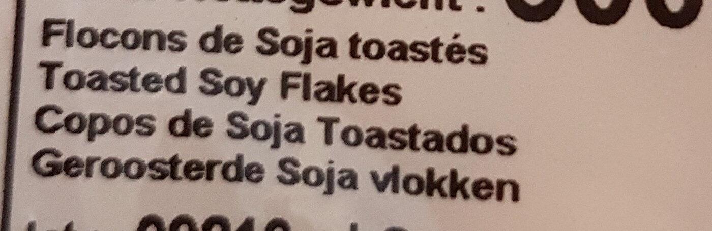 Flocons De Soja Toastés - Ingredienti - fr