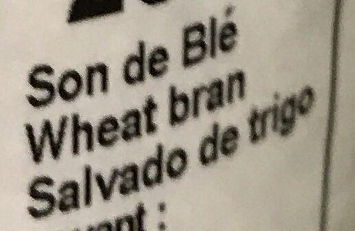 Son de blé - Ingrédients - fr