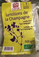 Lentillons de la Champagne - Product - fr