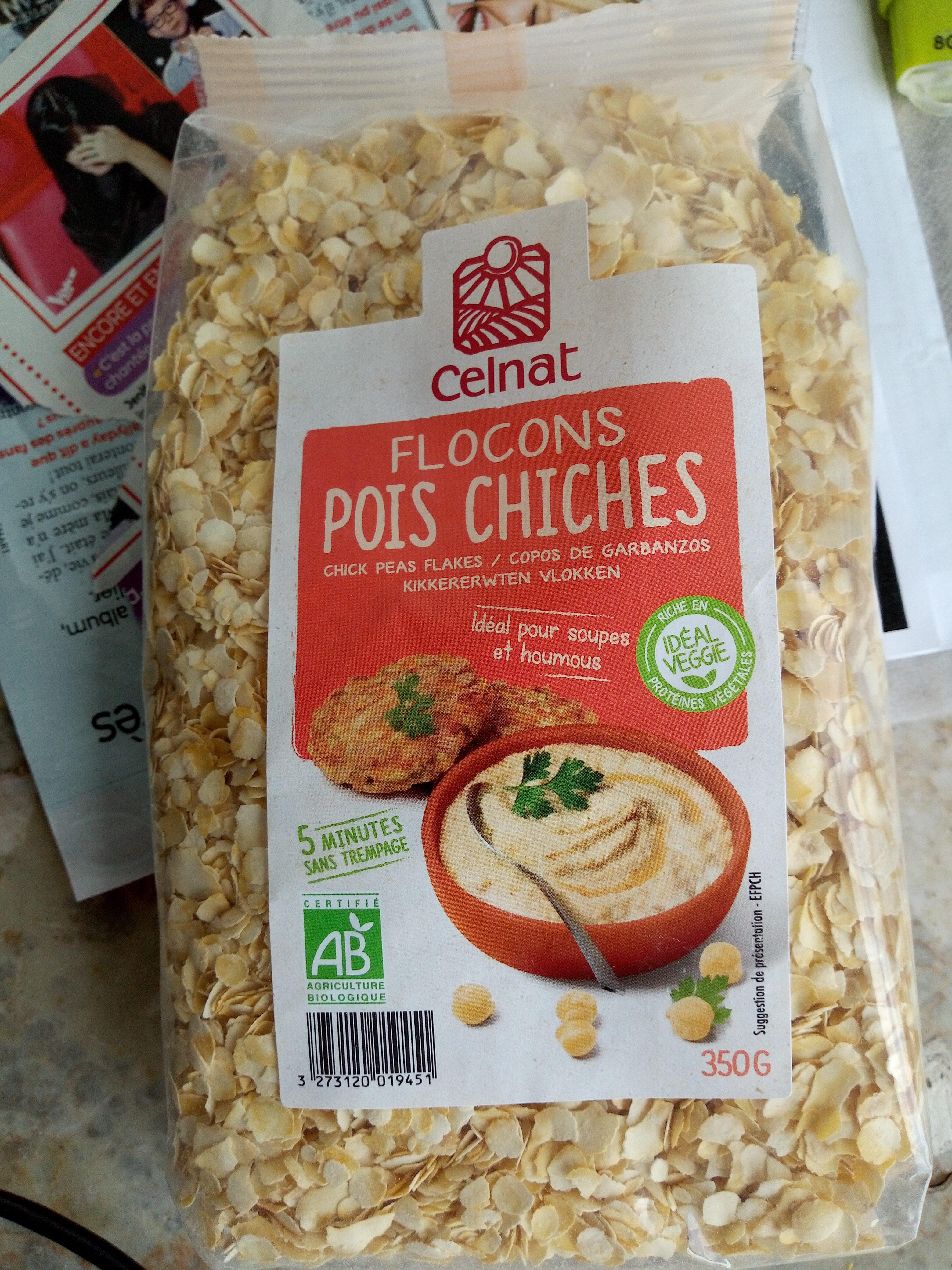 Flocons De Pois Chiches - Produit - fr