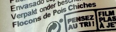 Flocons De Pois Chiches - Ingrédients - fr
