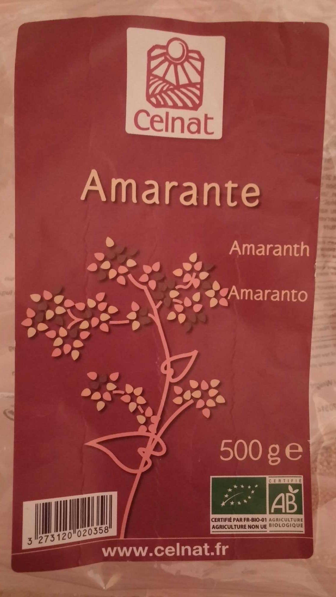 Amarante - Produit
