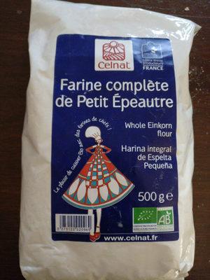 Farine complète de Petit Épeautre - Product - en