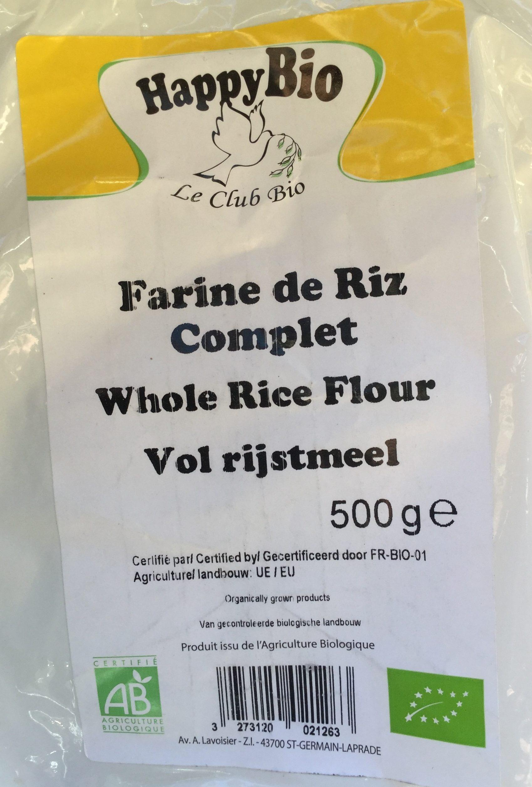 Farine de riz complet - Product - fr
