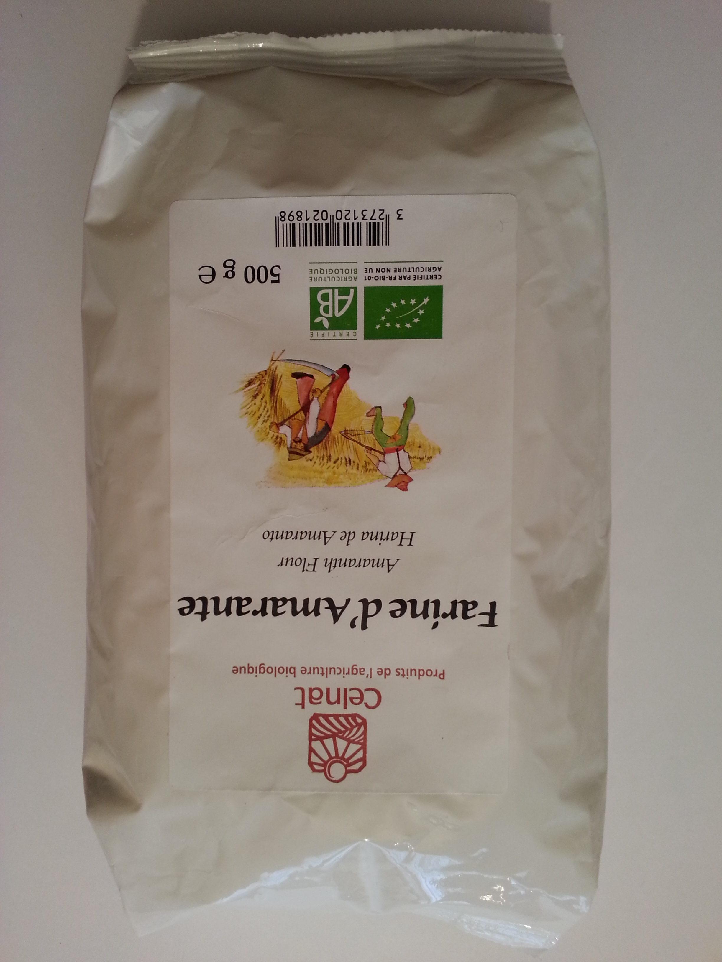 Farine d'Amarante - Product
