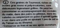 Graines de Tournesol - Ingrédients - fr