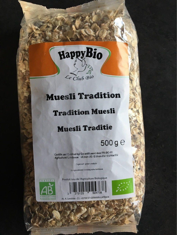 Muesli tradition - Produit - fr
